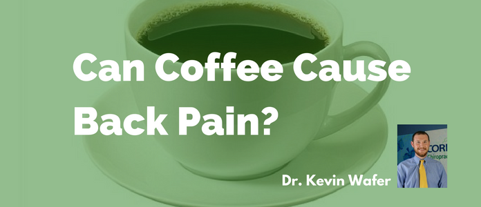 coffee and back pain